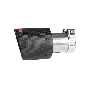 """MBRP Tip, 4"""" OD, Dual Wall Angled, 3"""" inlet, 7.7"""" length, Carbon Fiber, Universal"""