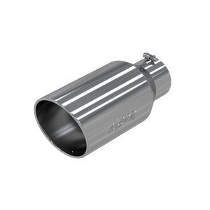 """MBRP Tip, 8"""" O.D. Rolled End, 5"""" inlet 18"""" in length, T304"""