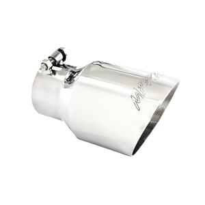 """MBRP Tip, 4.5"""" O.D. Dual Wall Angled, 3"""" inlet, 8"""" length T304"""