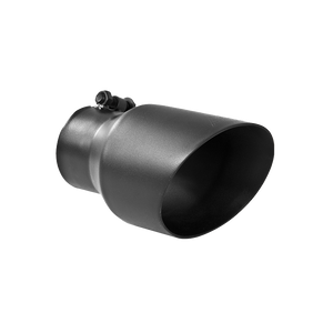"""MBRP Tip, 4.5"""" O.D. Dual Wall Angled, 3"""" inlet, 8"""" length, Black"""