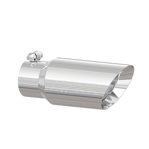 """MBRP Tip, 4"""" O.D. Dual Wall Angled, 3"""" inlet, 10"""" length, T304"""