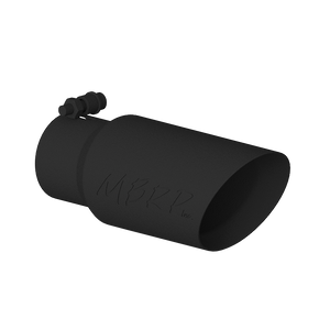 """MBRP Tip, 4"""" O.D. Dual Wall Angled, 3"""" inlet, 10"""" length, Black"""
