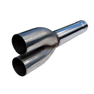 """MBRP Dual Muffler Delete Pipe 4"""" Inlet /Outlet 27.5"""" Overall, T409"""
