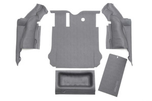 BEDRUG Jeep Bedtred 03-06 Jeep LJ Unlimited Rear 4pc Cargo Kit (includes Tailgate & Tub Liner)