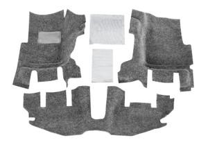 BEDRUG Jeep BEDRUG 97-06 Jeep TJ/LJ Front 3pc Floor Kit (With Center Console) - includes Heat Shields