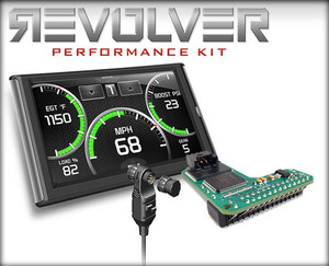 Edge REVOLVER PERFORMANCE KIT (Revolver with Insight and EAS Switch) FORD 7.3L 02-03 Excursion 6-Chip Master Box Code QLI3