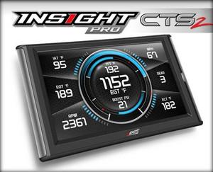 Edge Insight Pro CTS2 Performance Monitor - 01-15 GMC Sierra / Chevrolet Silverado 6.6L, 03-16 Ford F250-F350 6.0L / 6.4L / 6.7L, 03-07 Dodge 2500-3500 5.9L - 86100