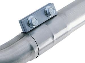 "Borla 2.75"" T-304 Stainless Steel Dynaflex Tru-Seal Band Clamp (Flat Style)"