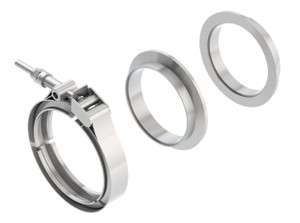 "Borla 3"" T-304 Stainless Steel V-Band Clamp"