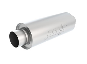 "Borla XR-1 Multi-Core 3.5"" Center-Center 16"" x 6.25"" Round - Racing Muffler For Venues Requiring A Muffler. BOR-40722"