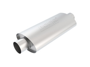 "Borla XR-1 Sportsman 3"" Center-Center 16""x4.5""x7.88"" - Racing Muffler. Universal part. Reversible design for installation flexibility. BOR-40944"