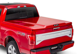 UnderCover Elite LX 2019 (New Body Style) Ram 1500-3500 6.4ft Short Bed, Quad/Mega Cab with Single Rear Wheels without RamBox PR4 - Flame Red