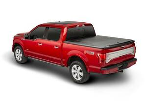 UnderCover SE 2005-2015 Toyota Tacoma 5ft Short Bed Crew with Deck Rail System Black Textured