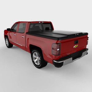 UnderCover Elite Smooth 2016-2019 Toyota Tacoma 5ft Short Bed Crew with Deck Rail System Smooth-Ready To Paint