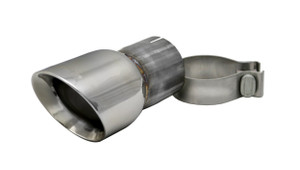Corsa Single 3.5 Inch Polished Pro-Series Tip (Clamp Included) 2.75 Inlet Pipe Universal Stainless Steel