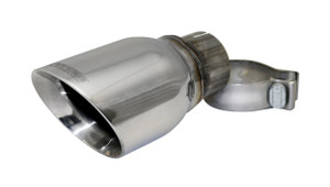 Corsa Single 4.0 Inch Polished Pro-Series Tip (Clamp Included) 2.5 Inch Inlet Universal Stainless Steel