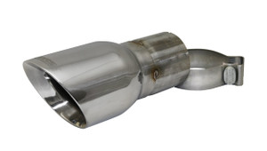 Corsa Single 4.0 Inch Polished Pro-Series Tip (Clamp Included) 3.0 Inch Inlet Universal Stainless Steel