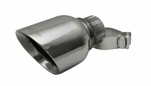 Corsa Single 4.5 Inch Polished Pro-Series Tip (Clamp Included) 2.5 Inch Inlet Stainless Steel
