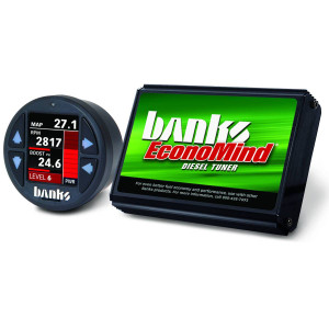 Banks Economind 2004.5-05 Duramax 6.6L LLY Tuner w/ iDash 1.8 Super Gauge (PowerPack calibration)