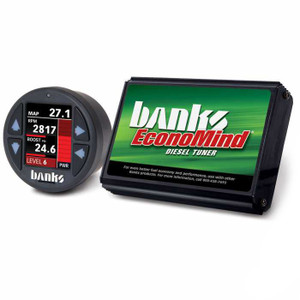 Banks Economind 2007.5-10 6.6L Duramax LMM Tuner w/ iDash 1.8 Super Gauge (PowerPack Calibration)