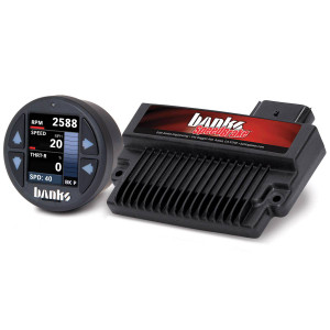 Banks SpeedBrake 2007.5-10 6.6L Duramax LMM Tuner w/ iDash 1.8 Super Gauge