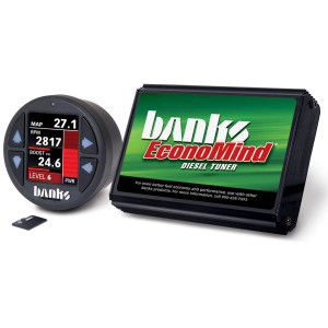 Banks Economind 2007.5-10 6.6L Duramax LMM Tuner w/ iDash 1.8 DataMonster (PowerPack Calibration)