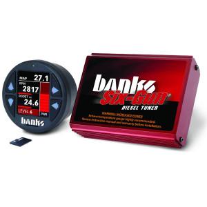 Banks Six-Gun 2007.5-10 6.6L Duramax LMM Tuner w/ iDash 1.8 DataMonster