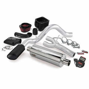 Banks Stinger Kit 2010 Chevy/GMC 1500 5.3L Flex - Black Tip (EC/SB)