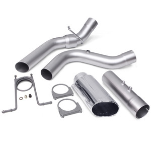 "Banks 4"" Monster Exhaust 2017-19 6.6L Duramax L5P - Chrome Tip (All Cab/Bed)"