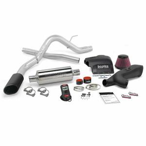 Banks Stinger Kit 2011-14 Ford F-150 3.5L EcoBoost - Black Tip (RC-CC/SB, CC/LB)