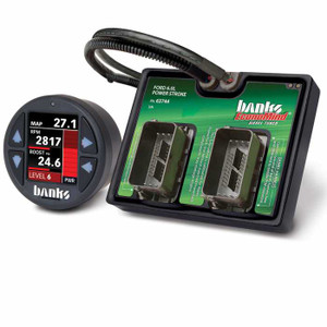 Banks Economind 2003-07 Ford 6.0L Tuner w/ iDash 1.8 Super Gauge (PowerPack Calibration)