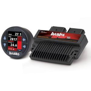 Banks Six-Gun 2008-10 Ford 6.4L Tuner w/ Banks iDash 1.8 Super Gauge