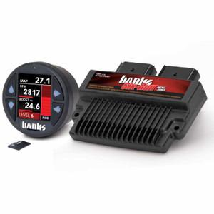 Banks Six-Gun 2008-10 Ford 6.4L Tuner w/ iDash 1.8 DataMonster