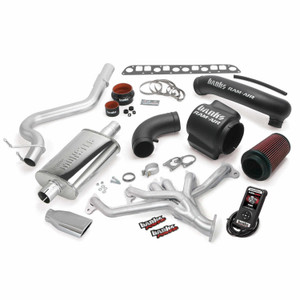 Banks PowerPack 98-99 Jeep 4.0L Wrangler w/ AutoMind - Chrome Tip
