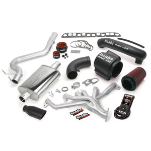 Banks PowerPack 98-99 Jeep 4.0L Wrangler w/ AutoMind - Black Tip