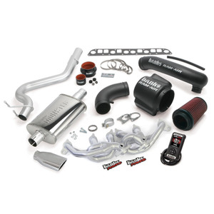 Banks PowerPack 2000-03 Jeep 4.0L Wrangler w/ AutoMind - Chrome Tip