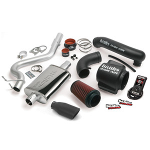 Banks Stinger Kit 2004-06 Jeep 4.0L Wrangler - Black Tip