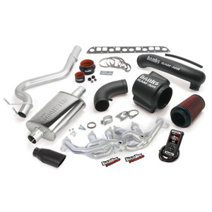 Banks PowerPack 2004-06 Jeep 4.0L Wrangler TJ w/ AutoMind - Black Tip