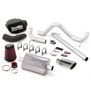 Banks Stinger Kit 2007-11 Jeep 3.8L Wrangler 2 Door - Chrome Tip