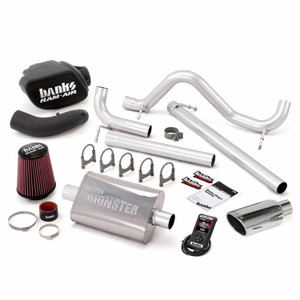 Banks Stinger Kit 2007-11 Jeep 3.8L Wrangler 4 Door w/ AutoMind - Chrome Tip