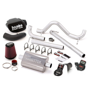 Banks Stinger Kit 2007-11 Jeep 3.8L Wrangler 4 Door w/ AutoMind - Black Tip
