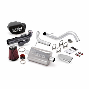 Banks Stinger Kit 2012-18 Jeep 3.6L Wrangler 2 Door - Chrome Tip
