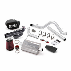 Banks Stinger Kit 2012-18 Jeep 3.6L Wrangler 4 Door - Black Tip