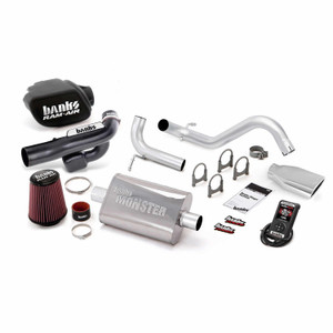 Banks Stinger Kit 2012-14 Jeep 3.6L Wrangler 2 Door w/ AutoMind - Chrome Tip
