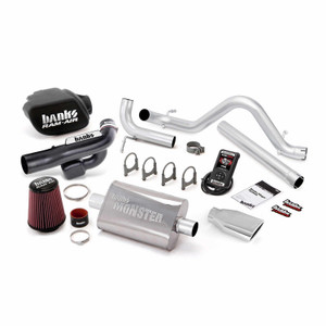 Banks Stinger Kit 2012-14 Jeep 3.6L Wrangler 4 Door w/ AutoMind - Chrome Tip