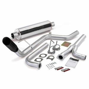 "Banks 3"" Monster Exhaust 2004-15 Nissan Frontier 4.0L - Black Tip (All Cab/Bed)"