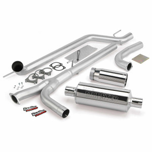 "Banks 3"" Monster Exhaust 2004-15 Nissan Titan 5.6L - Chrome Tip (All Cab/Bed)"
