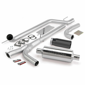"Banks 3"" Monster Exhaust 2004-15 Nissan Titan 5.6L - BlackTip (All Cab/Bed)"