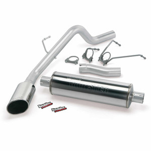 "Banks 3"" Monster Exhaust 2002-03 Dodge 1500 4.7L - Chrome Tip (CC/SB)"