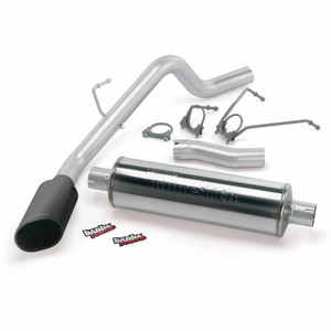 "Banks 3"" Monster Exhaust 2009 Dodge 1500 5.7L Hemi - Black Tip (CC/SB)"